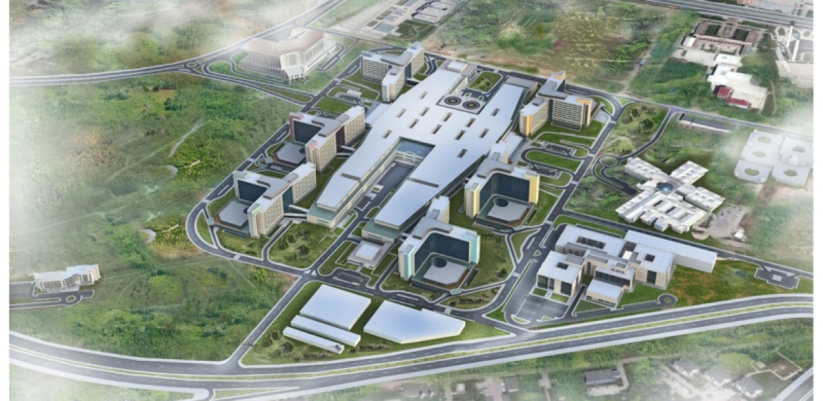BİLKENT INTEGRATED HEALTH CAMPUS; Europe's Largest