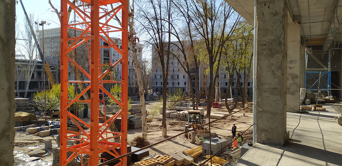 Latest Updates from Construction Site of Geology University