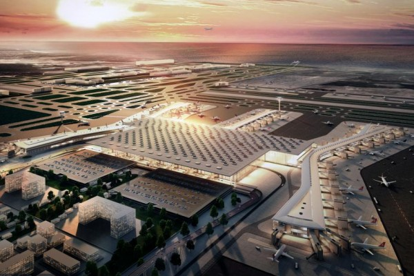Istanbul New Airport awarded by World Architecture Festival