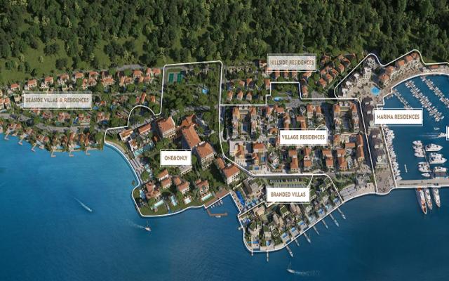Portonovi Montenegro Marina, Hotel, Villas Project