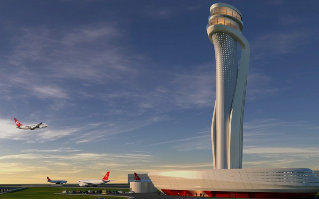Istanbul Grand (3rd) Airport Control Tower